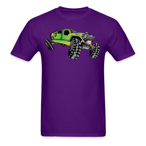 Cartoon Off-Road Monster Truck - Men's T-Shirt