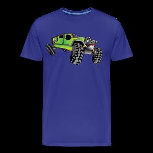 Cartoon Off-Road Monster Truck - Men's Premium T-Shirt
