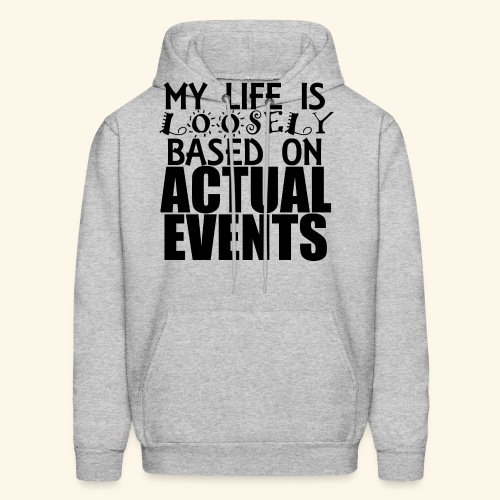 loosely based T-Shirts - Men's Hoodie