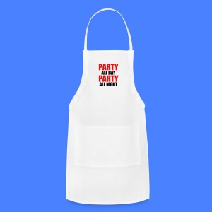 Party All Day Party All Night iPhone 5 Cases - Adjustable Apron