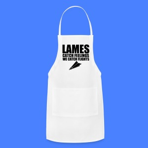 Lames Catch Feelings We Catch Flights iPhone 5 Cases - Adjustable Apron