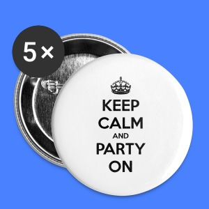Keep Calm And Party On iPhone 5 Cases - Small Buttons
