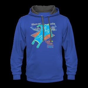 Wingsuit Pilot - Contrast Hoodie