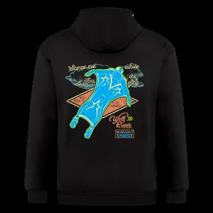 Wingsuit Pilot - Men's Zip Hoodie