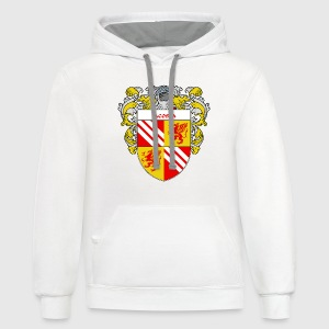 Acosta Coat of Arms/Family Crest - Contrast Hoodie