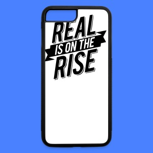 Real Is On The Rise iPhone 5 Cases - iPhone 7 Plus/8 Plus Rubber Case