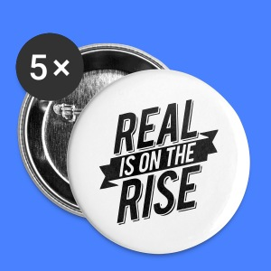 Real Is On The Rise iPhone 5 Cases - Small Buttons