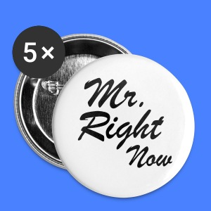 Mr. Right Now iPhone 5 Cases - Small Buttons