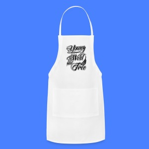 Young, Wild, and Free iPhone 5 Cases - Adjustable Apron