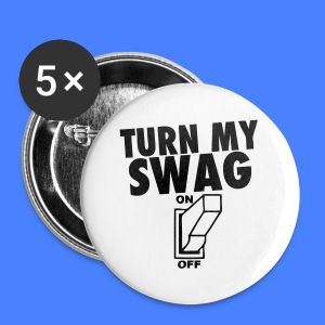 Turn My Swag On iPhone 5 Cases - Small Buttons