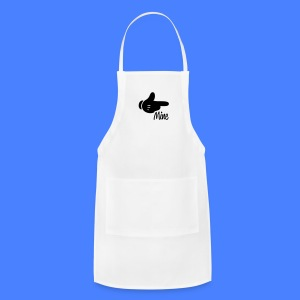 Mine Pointing Right iPhone 5 Cases - Adjustable Apron