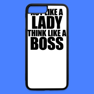 Act Like A Lady Think iPhone 5 Cases - iPhone 7 Plus/8 Plus Rubber Case