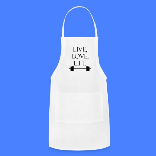 Live Love Lift iPhone 5 Cases - Adjustable Apron