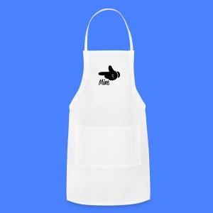 Mine Pointing Left iPhone 5 Cases - Adjustable Apron