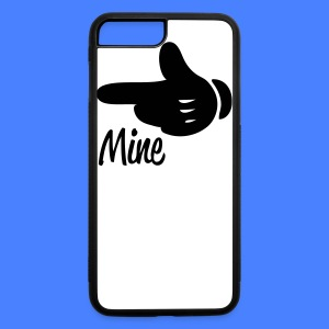 Mine Pointing Left iPhone 5 Cases - iPhone 7 Plus/8 Plus Rubber Case