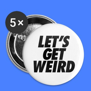 Let's Get Weird iPhone 5 Cases - Small Buttons