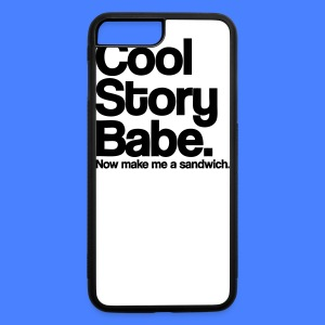 Cool Story Babe iPhone 5 Cases - iPhone 7 Plus/8 Plus Rubber Case