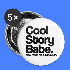 Cool Story Babe iPhone 5 Cases - Small Buttons