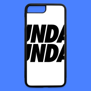 Sunday Funday iPhone 5 Cases - iPhone 7 Plus/8 Plus Rubber Case