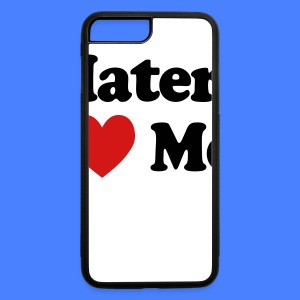 Haters Love Me iPhone 5 Cases - iPhone 7 Plus/8 Plus Rubber Case