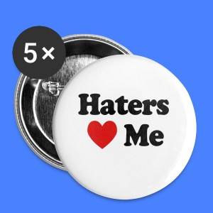 Haters Love Me iPhone 5 Cases - Small Buttons