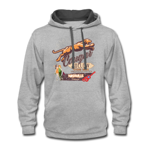 Cougar Hollow Wine Bar T-Shirts - Contrast Hoodie