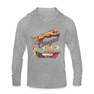 Cougar Hollow Wine Bar T-Shirts - Unisex Tri-Blend Hoodie Shirt