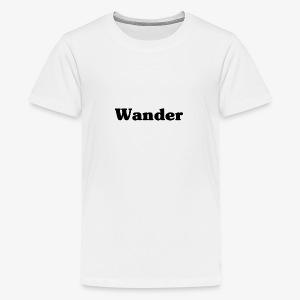 Baby Wanderer - Kids' Premium T-Shirt