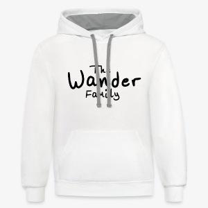 Wander Family - Contrast Hoodie