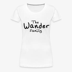 Wander Family - Women's Premium T-Shirt