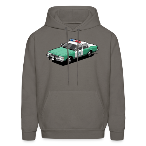 SD County Sheriff Department Vintage Police Car - Men's Hoodie