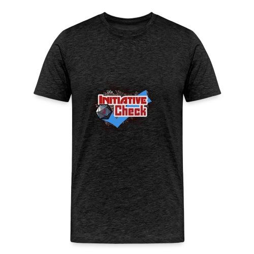 InitiativeCheckSweathshirtGrey - Men's Premium T-Shirt