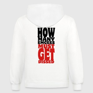 How Many Emcees Must Get Dissed Women's T-Shirts - Contrast Hoodie