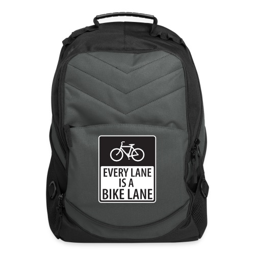 every lane is a bike lane shirt - Computer Backpack