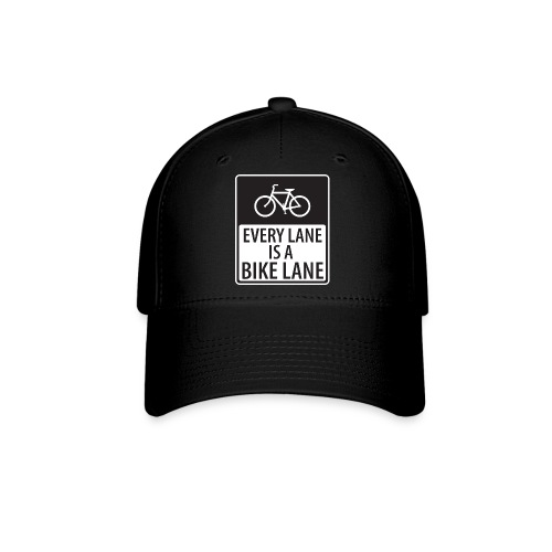 every lane is a bike lane shirt - Baseball Cap