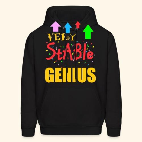 very stable genius T-Shirts - Men's Hoodie