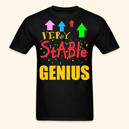 very stable genius T-Shirts - Men's T-Shirt