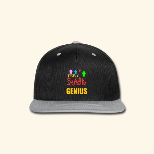 very stable genius T-Shirts - Snap-back Baseball Cap