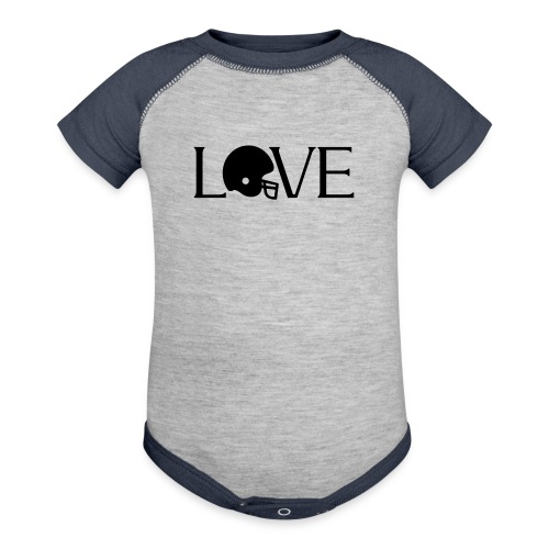 Football Love player fan t-shirt - Baby Contrast One Piece