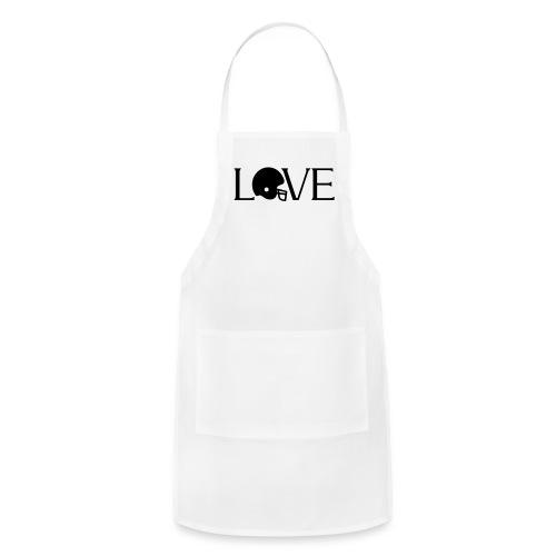 Football Love player fan t-shirt - Adjustable Apron
