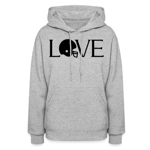 Football Love player fan t-shirt - Women's Hoodie