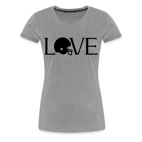 Football Love player fan t-shirt - Women's Premium T-Shirt