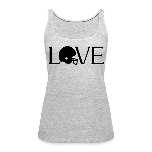 Football Love player fan t-shirt - Women's Premium Tank Top
