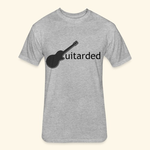 Guitarded  - Fitted Cotton/Poly T-Shirt by Next Level