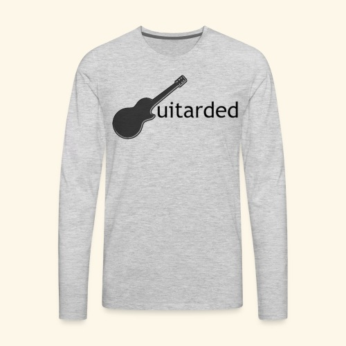 Guitarded  - Men's Premium Long Sleeve T-Shirt