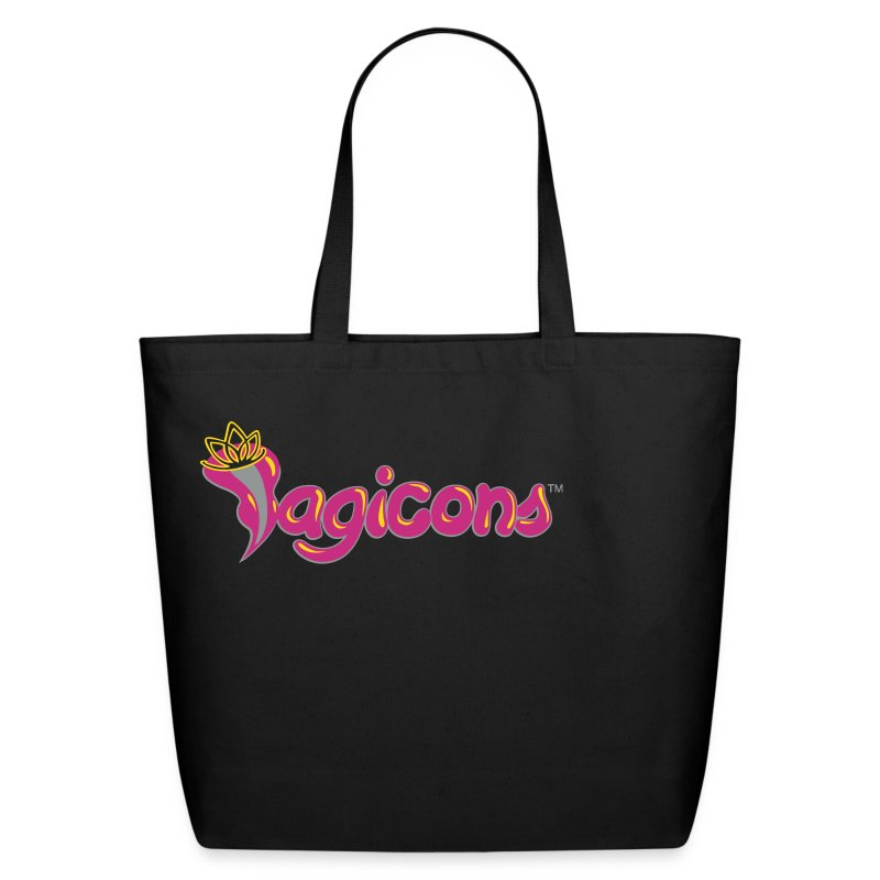 VAGICONS Red Light District - Eco-Friendly Cotton Tote