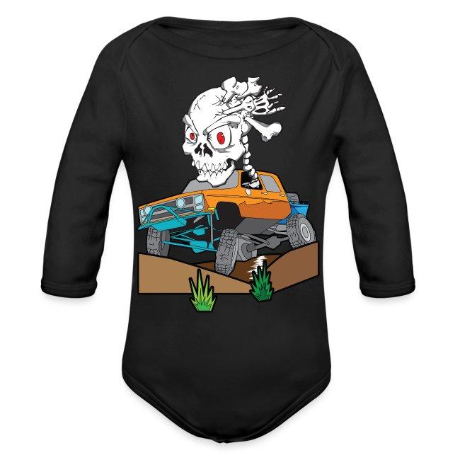 Skull Crazed 4x4 rock crawler truck
