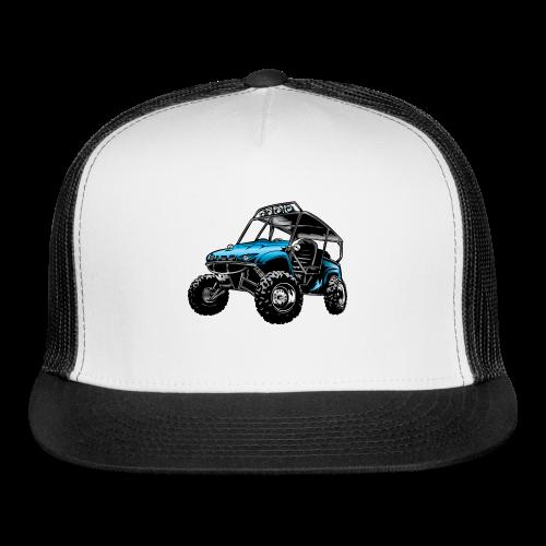 UTV side-x-side, blue - Trucker Cap