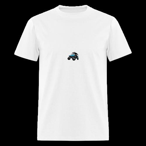 UTV side-x-side, blue - Men's T-Shirt