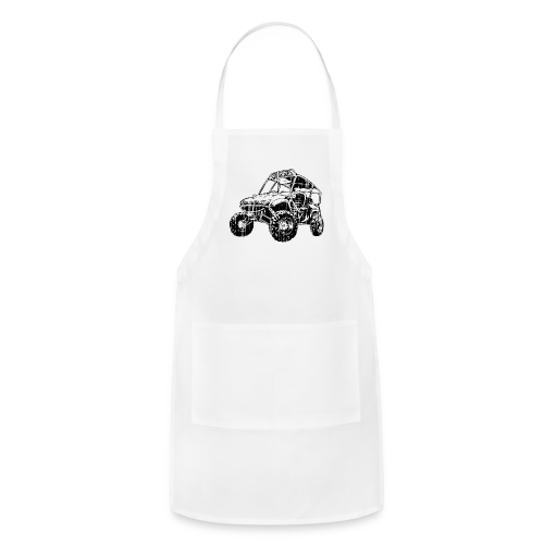 UTV side-x-side, distressed - Adjustable Apron